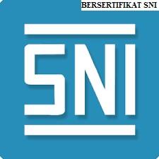 Bersertifikat SNI