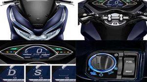 Fitur Honda PCX Hybrid
